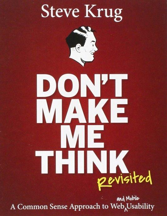 Boktips: Don't Make Me Think, Revisited av Stephen Krugh
