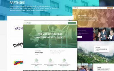 Triss i nya webbsajter för WIN