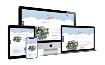 Regnbågar och rosa dalahästar hos Didring Ord & Bild